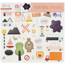 "Olli Ella - Stickers Playpa ""road"""