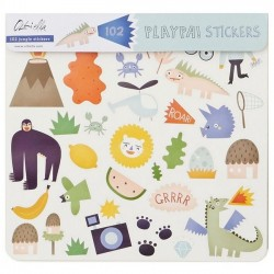 "Olli Ella - Stickers Playpa ""jungle"""