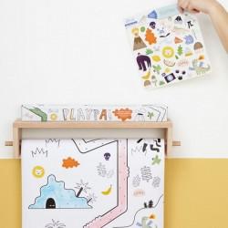 """Olli Ella - Stickers Playpa """"jungle"""""""