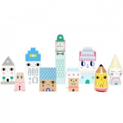 "figurines en bois : ""Suzi's city"" - Petit Monkey"