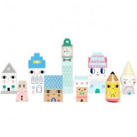 "figurines en bois : ""Suzi's city"" - Petit Monkey"