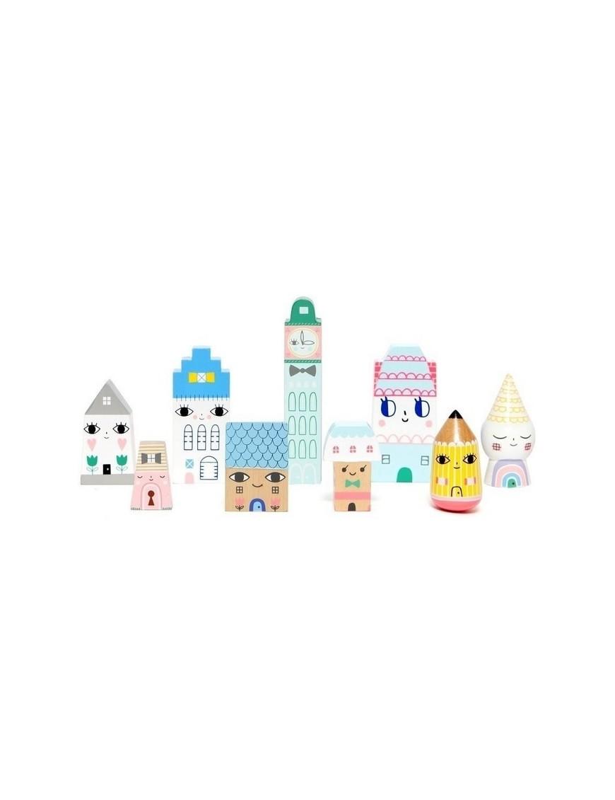 "Wooden doll ""Suzi's city""s | Petit Monkey"