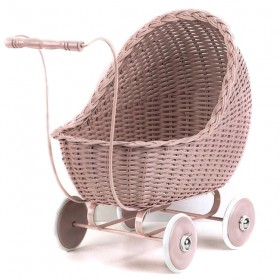 vintage baby doll stroller : dusty pink - Smallstuff