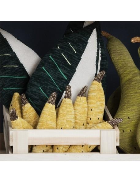 FERM living - coussin hochet banane - fruiticana
