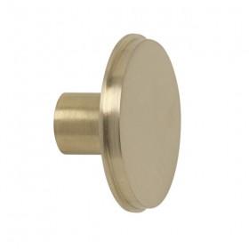 Ferm living - brass hook (large) Ø: 5cm