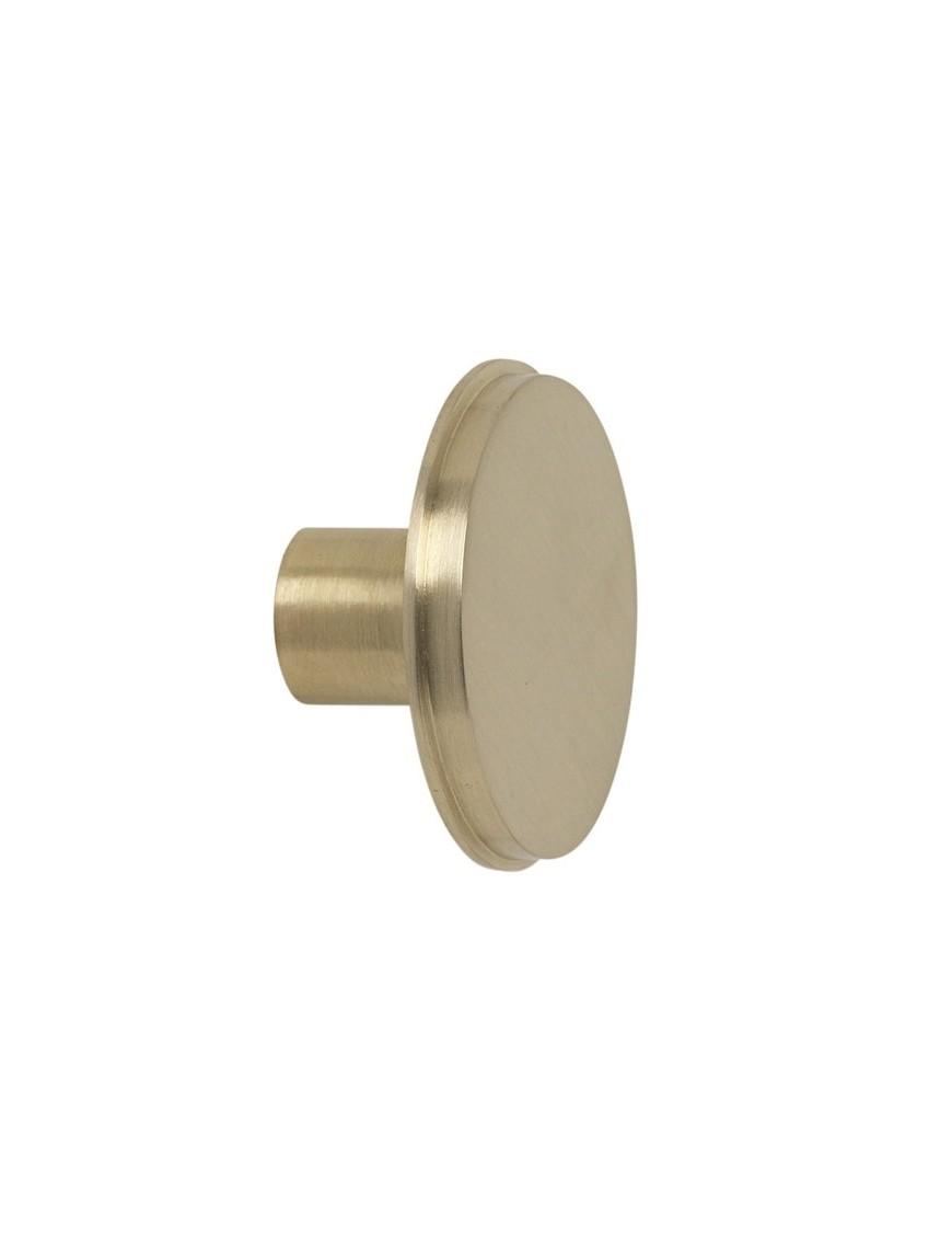 Ferm living - brass hook (large) Ø: 5cm