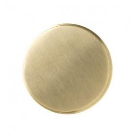 FERM living - patère laiton (large) Ø: 5 cm