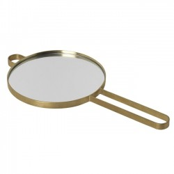 "Ferm living - brass hand mirror ""Poise"""