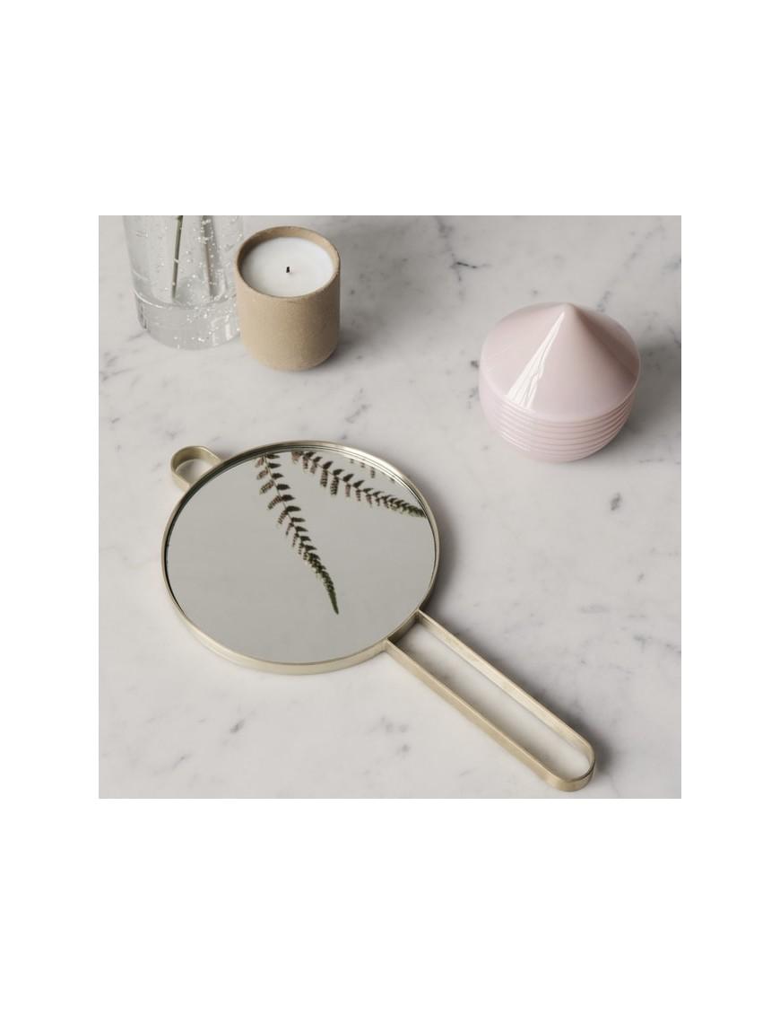 "FERM living - miroir main laiton ""Poise"""