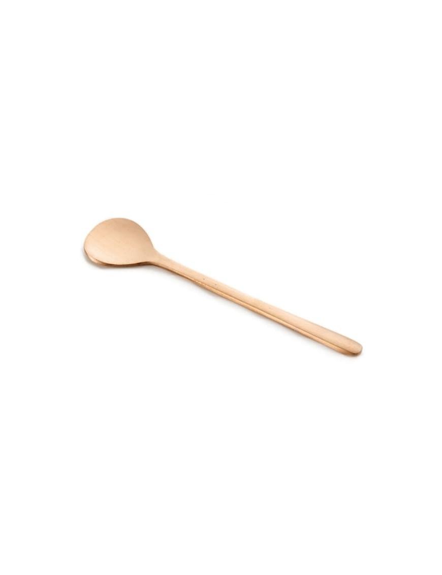 Brass dessert spoon FOG LINEN