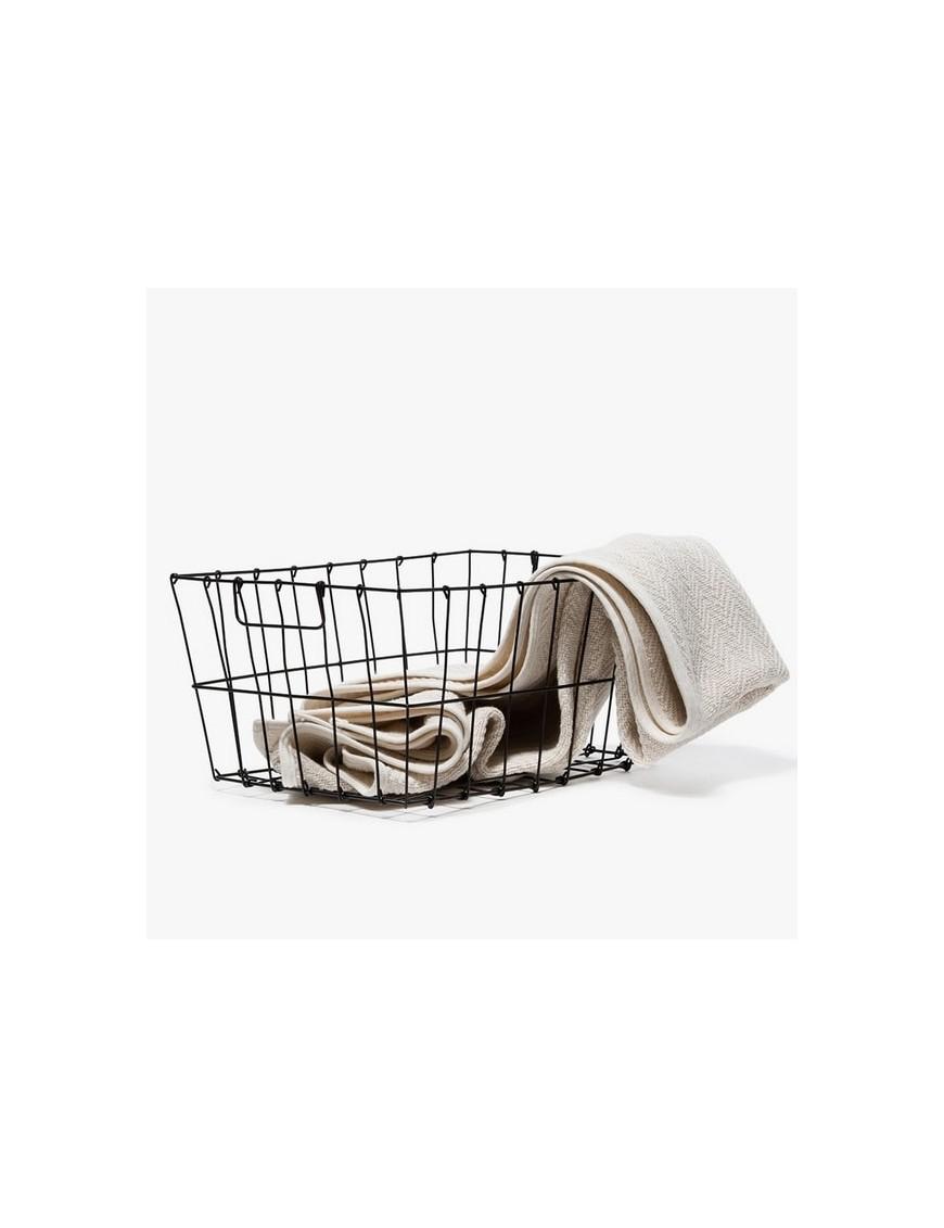 FOG LINEN - market basket- large