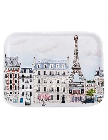 plateau rectangulaire : Paris (43x33cm) - Mélanie Voituriez