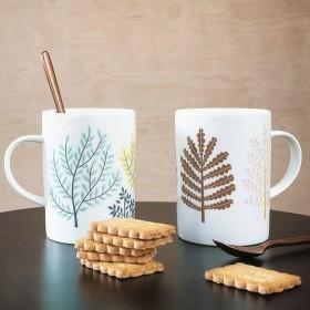 tasse mug : arbres - Mini labo / Atomic Soda