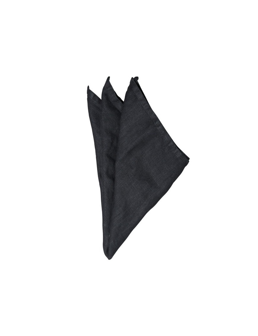 linen napkin : black (45x45cm) - On Interior