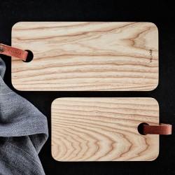 planche à découper bois/cuir (S) - Village