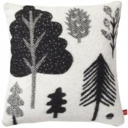 Donna Wilson - coussin forêt : noir & blanc