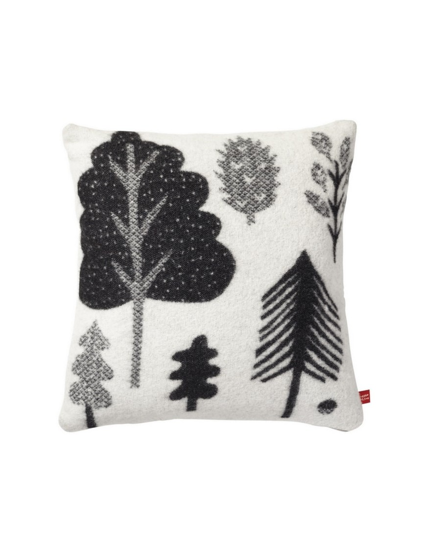 Donna Wilson - Forest woven cushion - black/white