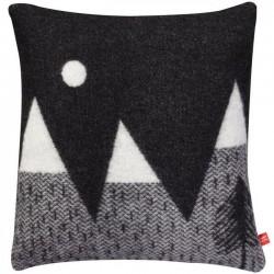Donna Wilson - coussin montagne & lune : noir & blanc