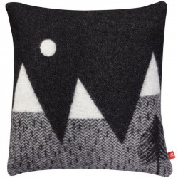 Donna Wilson - Mountain moon woven cushion - black/white