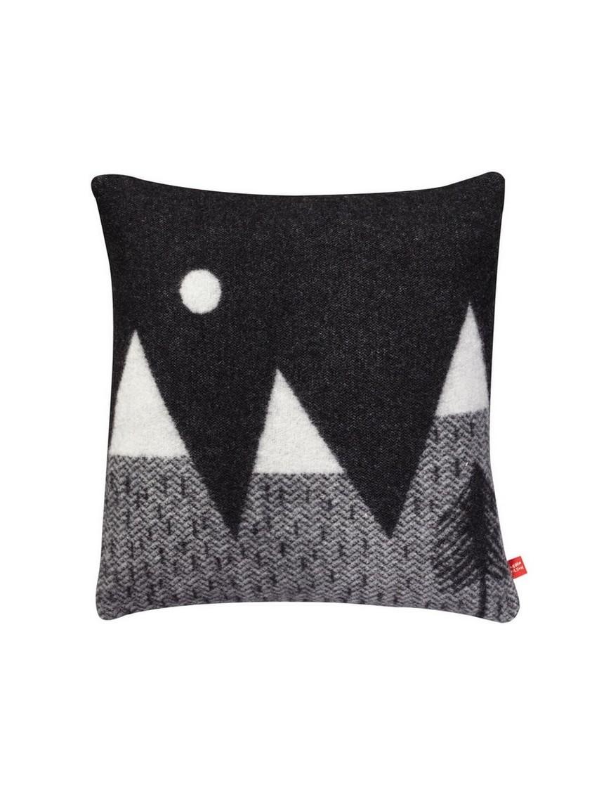 Donna Wilson - Mountain moon woven cushion - black/white