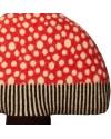 Donna Wilson - coussin champignon rouge
