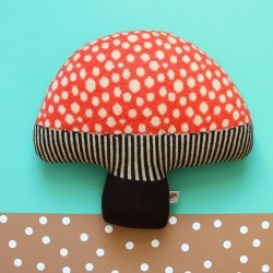 Donna Wilson - Mushroom cushion : red
