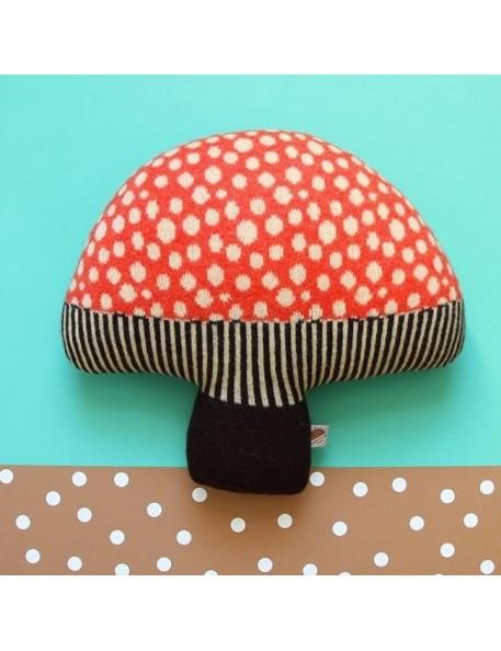 Donna Wilson - Mushroom cushion : red