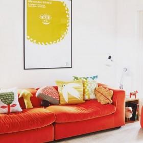 Donna Wilson - cushion leaf : brown