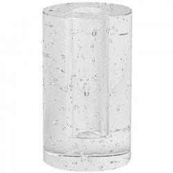 "Ferm LIVING - vase cylindrique en verre ""bubble"""