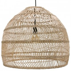 "HK Living hanging lamp ball natural ""wicker"""