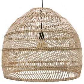 "HK Living hanging lamp ball natural ""wicker"""