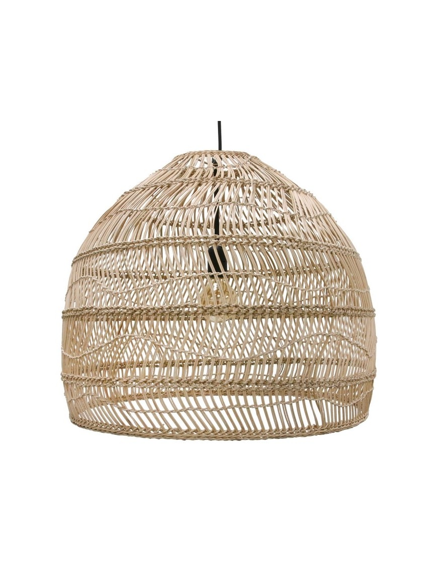 Achetez en ligne moins cher suspension en osier wicker for Suspension osier design