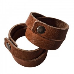 leather napkin ring (set of 2) - Village / On Interior
