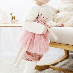 Alimrose Design - poupée chat en lin : Aurélie (48cm)