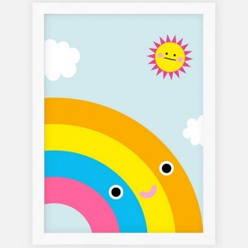 NOODOLL - Happy Rainbow print (A2)