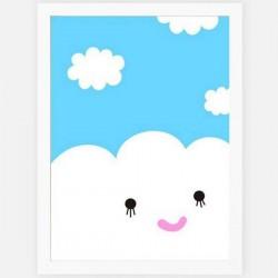 NOODOLL - Happy Cloud print (A2)