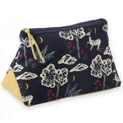 "Mr & Mrs Clynk cosmetic pouch ""gazelle"" (28x13x17cm)"