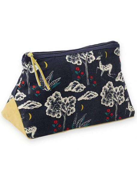 "Mr & Mrs Clynk cosmetic pouch ""gazelle"" (28x13x17cm)"