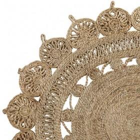 Bloomingville - tapis ovale jute (180x120 cm)