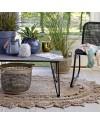 tapis salon ovale en jute naturelle 180cm