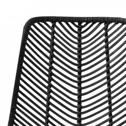 "black rattan chair ""Lena"" - Bloomingville"