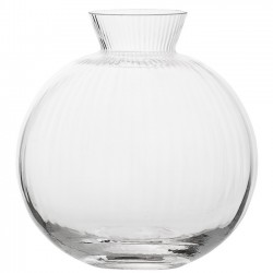 BLOOMINGVILLE - Vase, Clear Glass (Ø11cm)