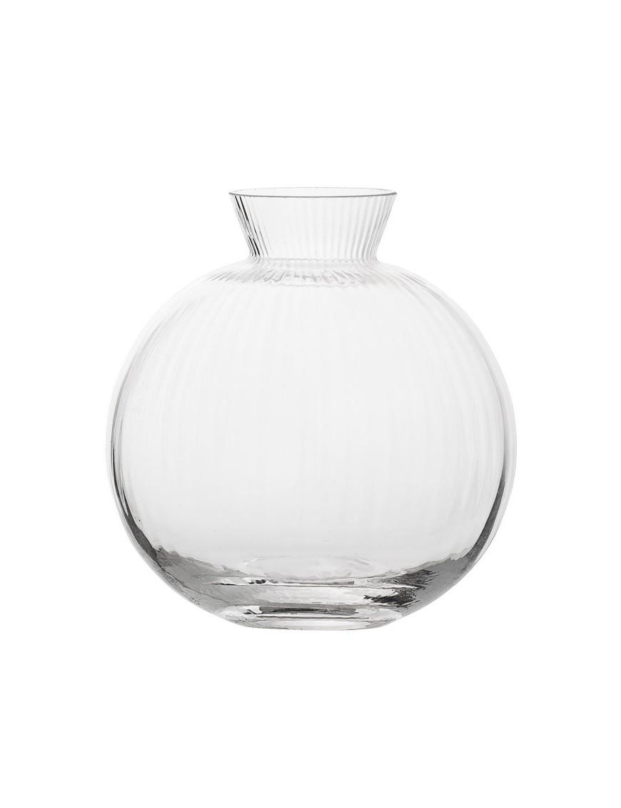 achetez bloomingville vase clear glass 11cm. Black Bedroom Furniture Sets. Home Design Ideas