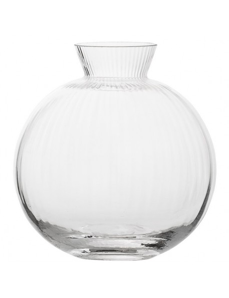 BLOOMINGVILLE - Vase, Clear Glass (Ø11cm)