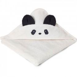 """Liewood - cape de bain bébé: """"panda"""": crème de la crème"""