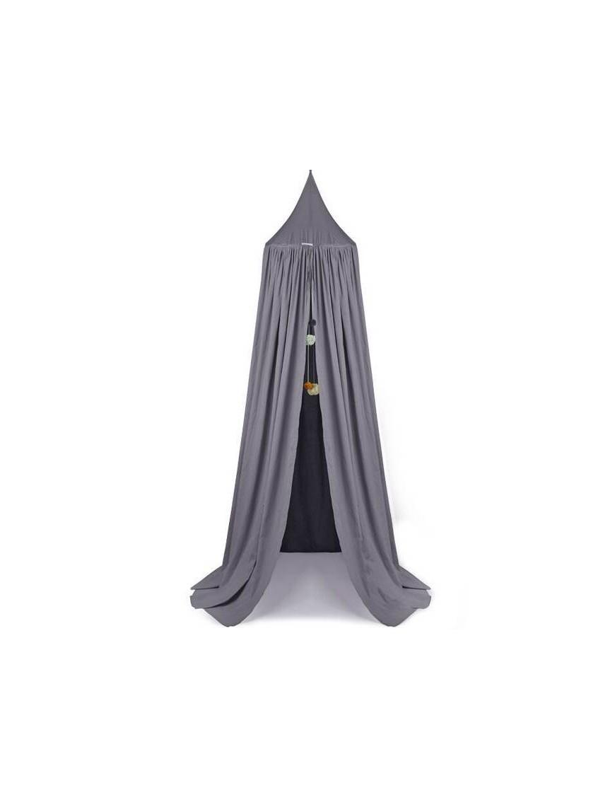 ciel de lit Liewood: canopy Enzo gris