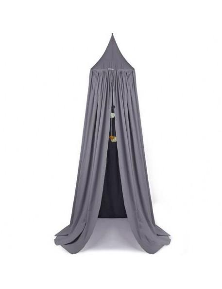 """Liewood - ciel de lit canopy gris """"Enzo"""": stone grey"""