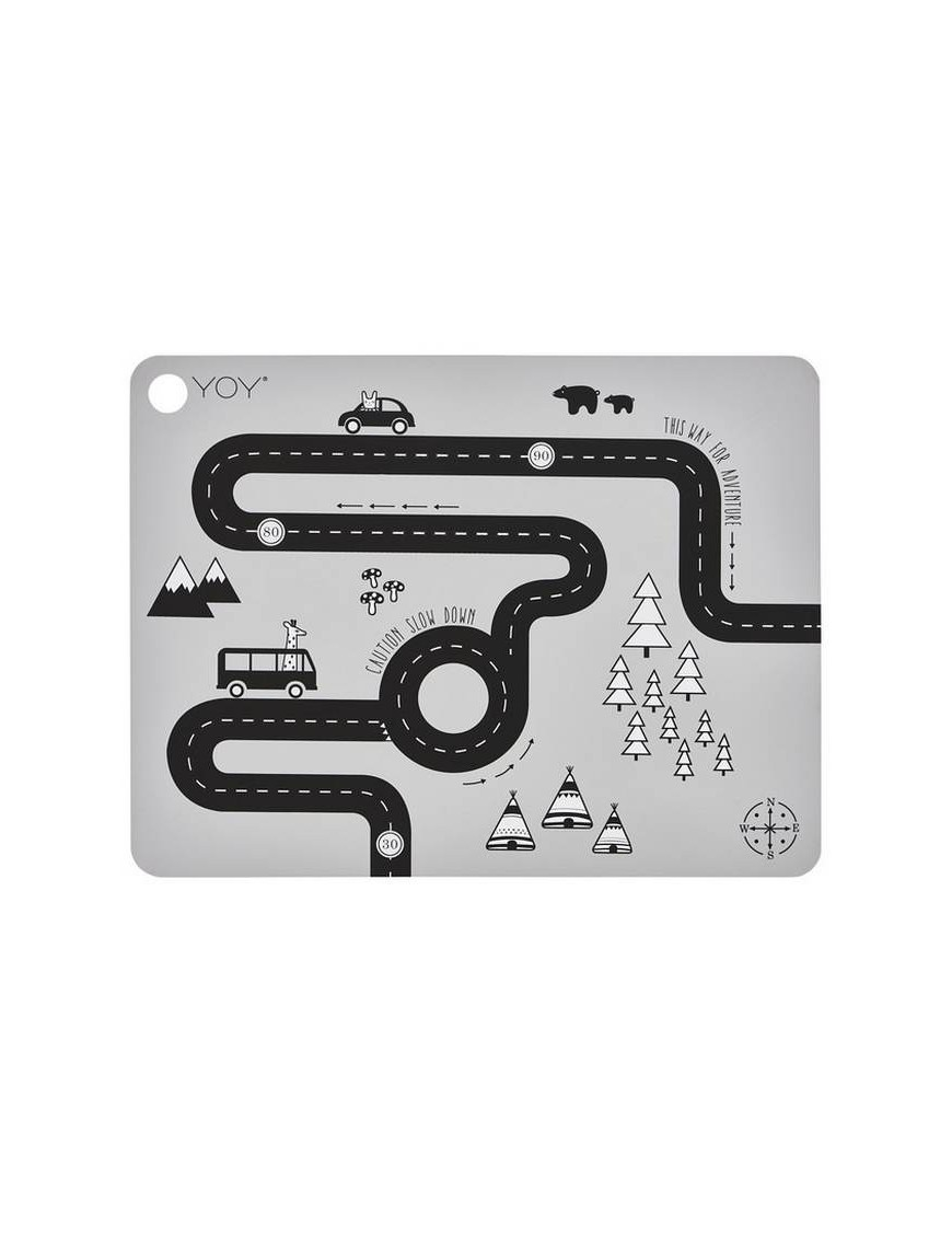 """oyoy placemat """"adventure"""""""