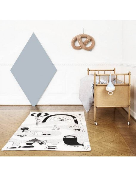 "OYOY - rug ""Mr Megalodon adventure"" (150x90cm)"