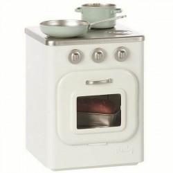 Maileg - cuisinière en métal avec accessoires